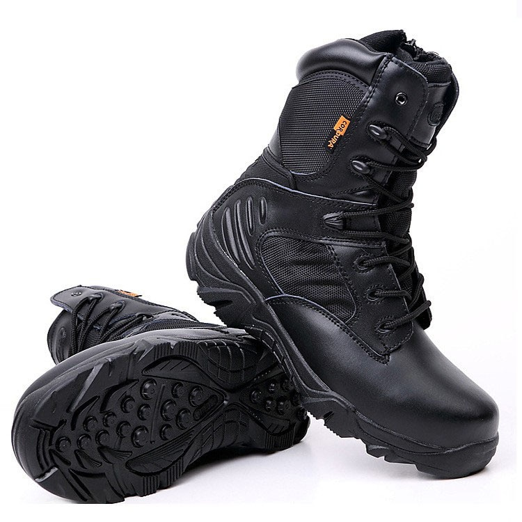 Winter Autumn Men Military Boots Quality Special Force Tactical Desert Combat Ankle Boats Army Work Shoes Leather Snow Boots