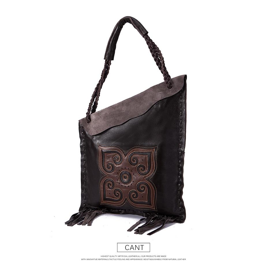 2019 100% GENUINE LEATHER Famous Brand Luxury Ladies Large Shopping handbag Shoulder bag Women female ol elegant Tote bag 6728-c