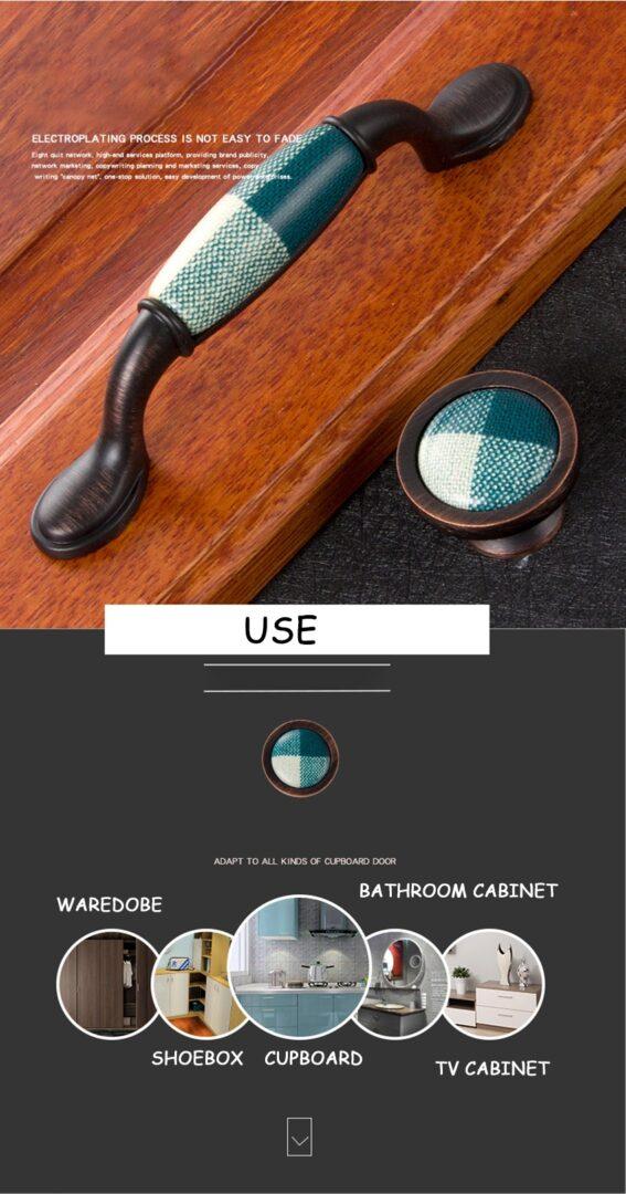 16/96/128mm Zinc Alloy Vintage Cabinet Pulls European Style Retro Door Cupboard Funiture Handle Knob Nordic Hardware Home Decor